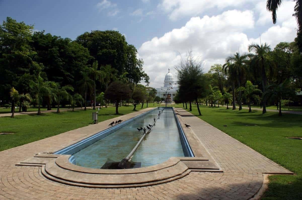 Viharamahadevi Park Colombo Sri Lanka