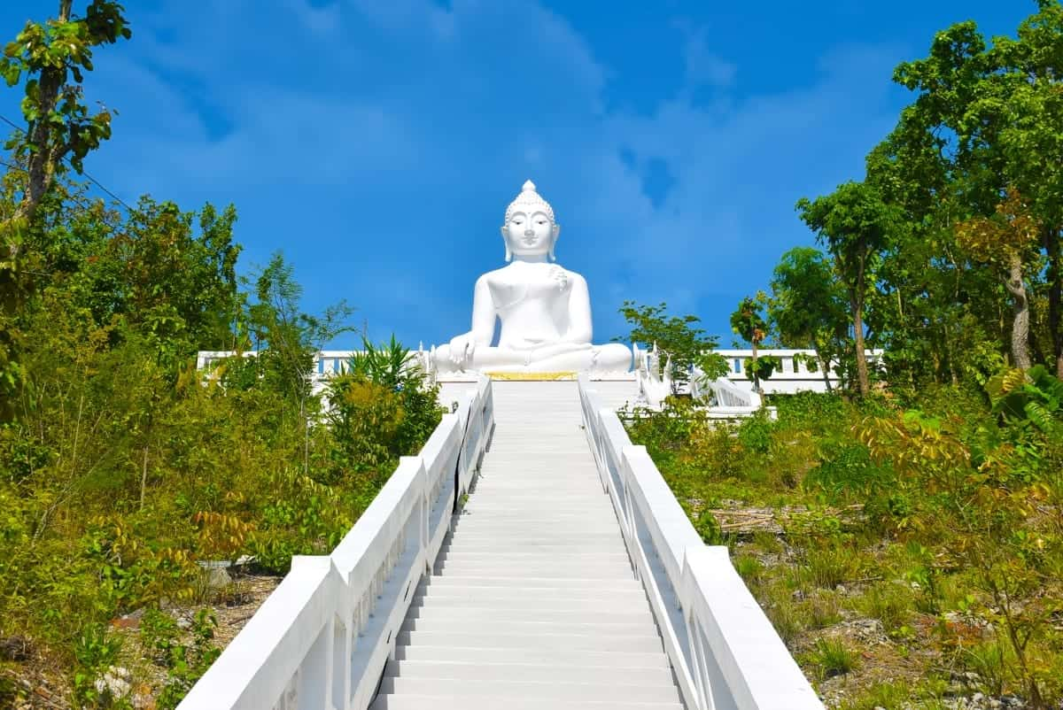 The White Buddha Pai Thailand