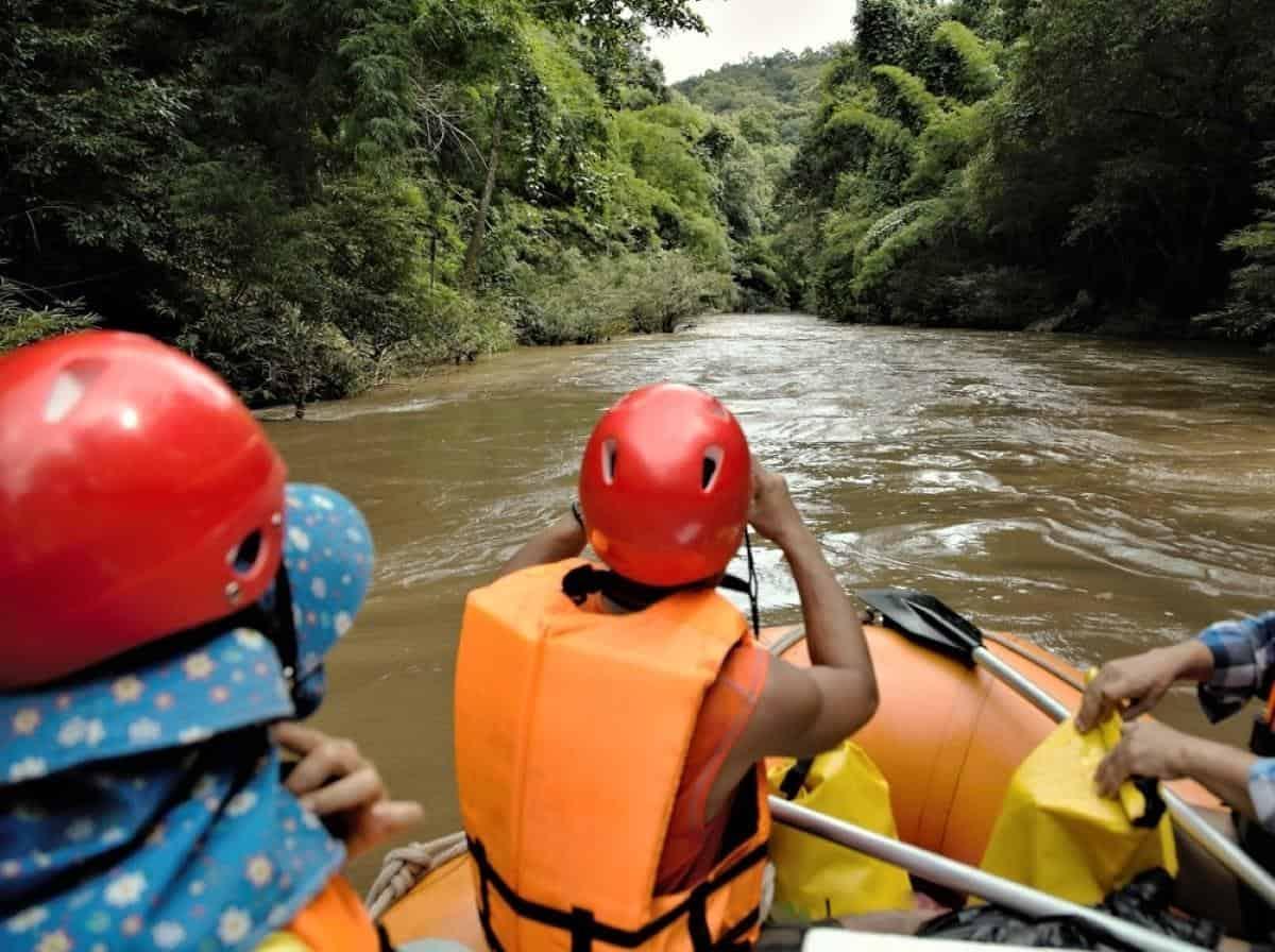 Whitewater Rafting Trip Pai Thailand