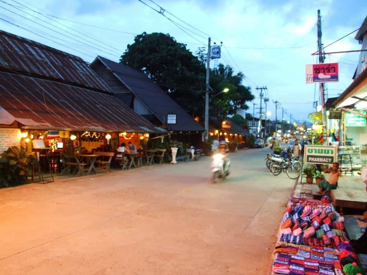 exploring around the town of Pai Thailand