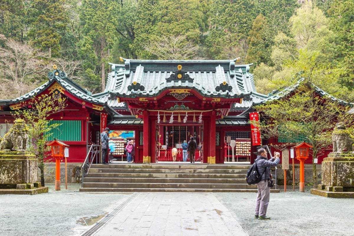 Ashi Lake Shrine Hakone Japan