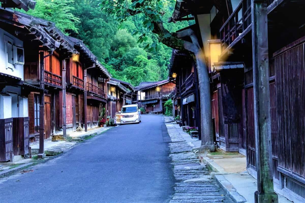 The Kiso Valley Nagano Prefecture Japan