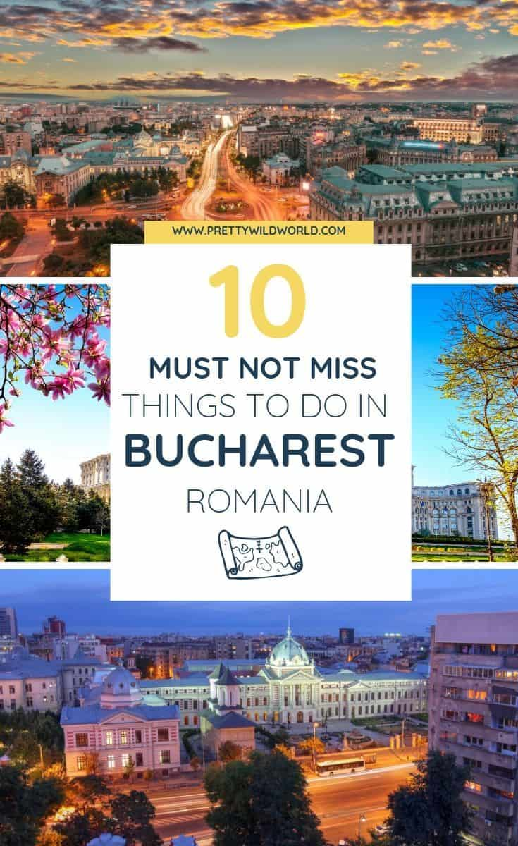 Things to do in Bucharest, Romania | An old town perfect for a summer and winter stroll. If you're interested in food, travel, instagram spots, nightlife, architecture, and shopping then Bucharest is for you! Read this now or pin it for later read! #traveldestinations #traveltips #bucketlisttravel #travelideas #travelguide #amazingdestinations #traveltheworld
