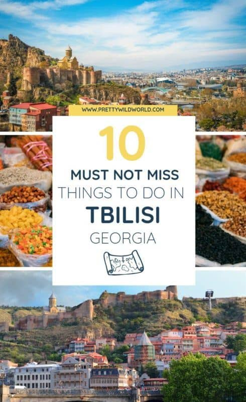 Things to do in Tbilisi, Georgia | Are you interested in travel, art, architecture, cafe culture, cute instagram spots, old traditions, food, and street style? Then, Tbilisi is your destination! Read this post now or pin it for later read. #traveldestinations #traveltips #bucketlisttravel #travelideas #travelguide #amazingdestinations #traveltheworld