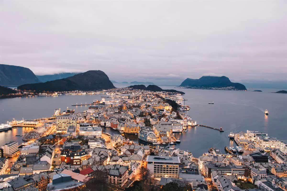 Ålesund Aksla Viewpoint