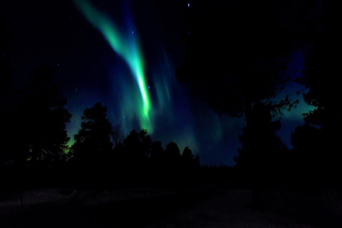 Northern Lights outside of Alta Norway