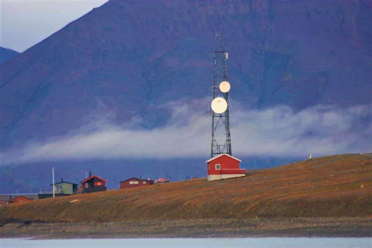 Isfjord Radio Station Svalbard