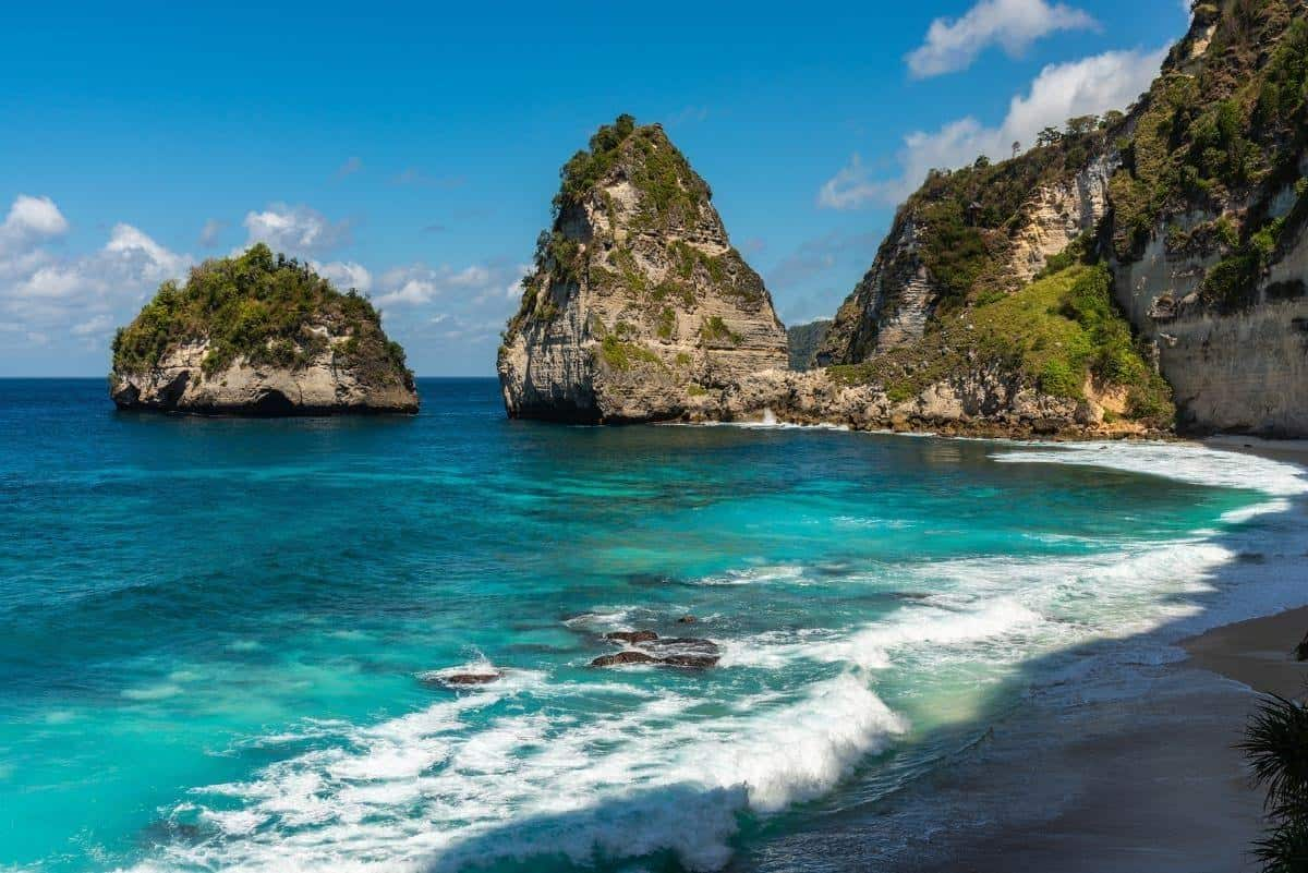 Diamond Beach in Nusa Penida