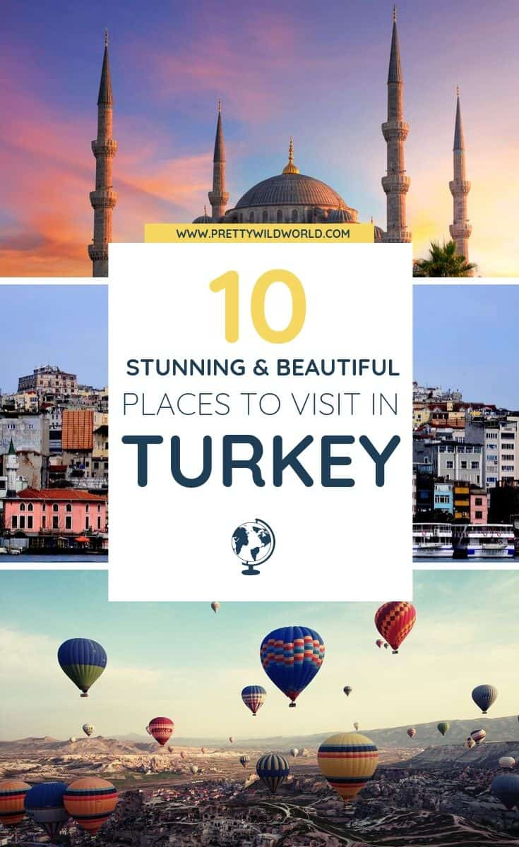 Places to visit in Turkey | Looking for an interesting country to travel to next? Check this post out and learn a bit about Istanbul or Ankara. Find out if Turkey is the perfect vacation fit for you! #traveldestinations #traveltips #bucketlisttravel #travelideas #travelguide #amazingdestinations #traveltheworld