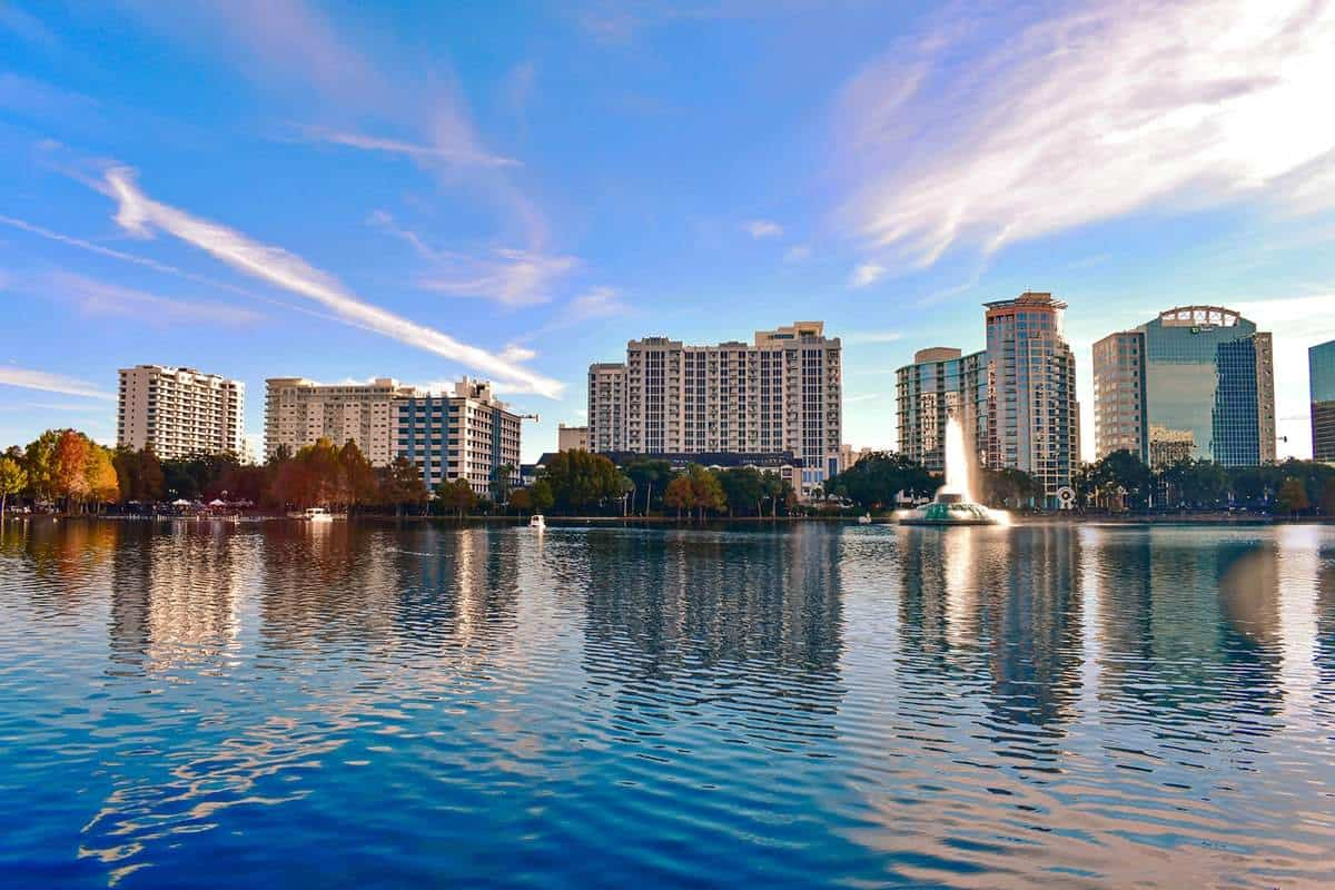 Lake Eola is one of the top things to do in Orlando!