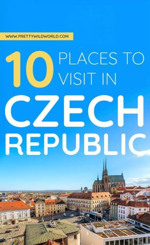 Places to visit in Czech Republic | Do you want to travel to Prague? Maybe you want to visit some nature and culture? Well, look no further! This Bohemian country and its countryside are so beautiful you must not miss it. Add it in your <a data-mil=