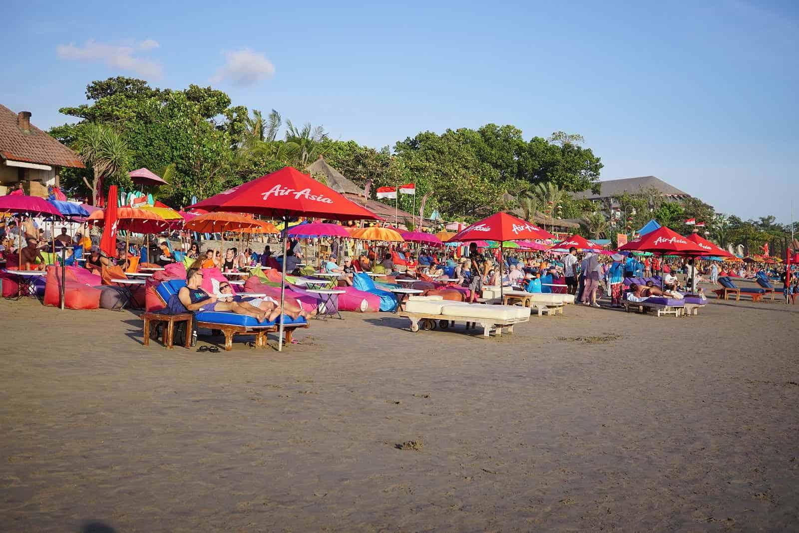 Seminyak Beach in Bali