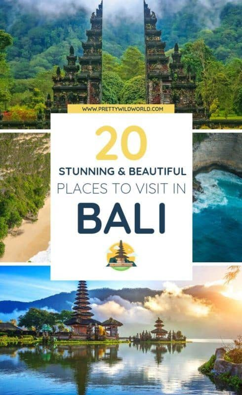 Places to visit in Bali | Are you interested in beaches, honeymoon destinations, resorts, shopping, temple, yoga, instagram spots, and culture? Read this post now or pin it for later read! #bali #indonesia #travel #traveldestinations #traveltips #bucketlisttravel #travelideas #travelguide #amazingdestinations