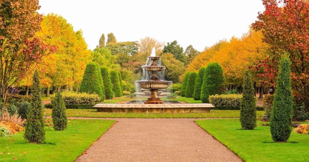 Regent Park London UK schema