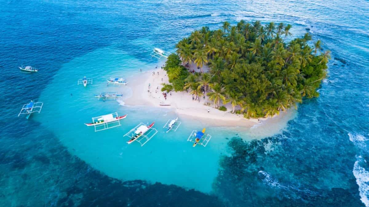 Guyam White Sand Beach Siargao Philippines