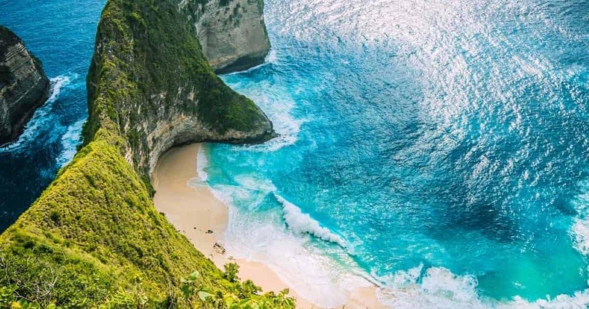 Kelingking Beach Nusa Penida Island Bali Indonesia