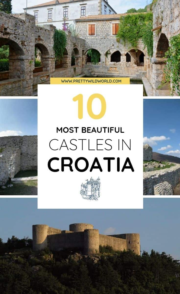 Castles in Croatia | castles in croatia, paradors in croatia, best castles in croatia, castles in northern croatia, moorish castle croatia, stay in a castle in croatia, castles in croatia, castles in croatia cities, castles in croatia architecture #croatia #europe #castles #travel