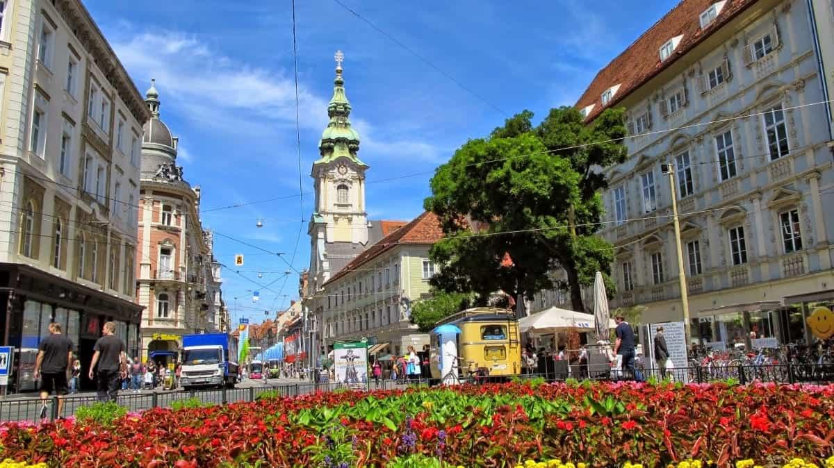 Inner Stadt Graz, Austria