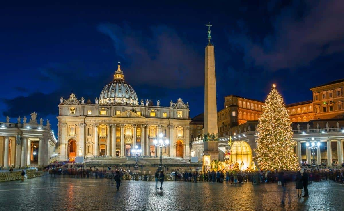 Saint Peter Basilica in Rome Italy