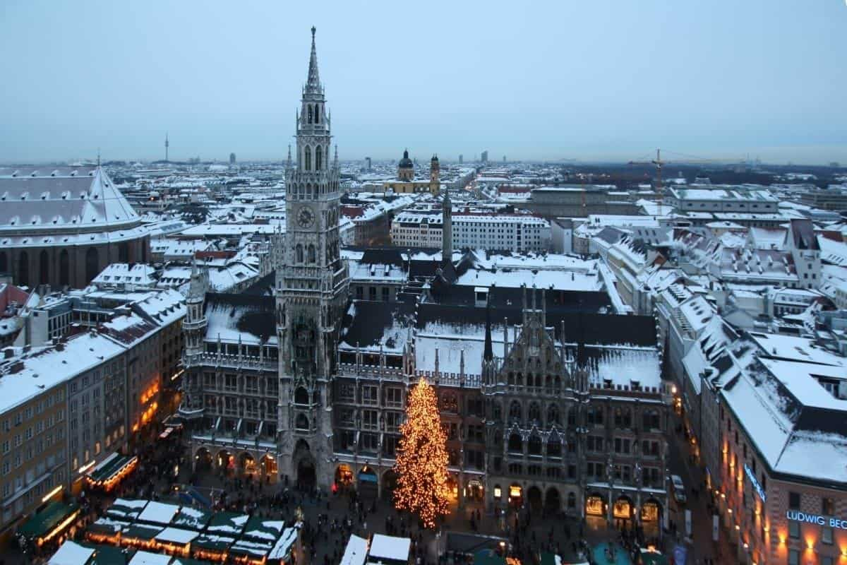 Munich Germany in February