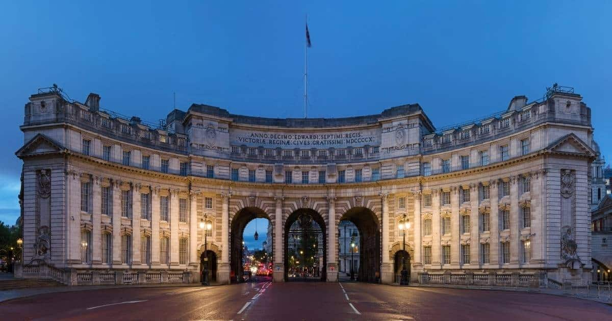 Admiralty Arch London, UK