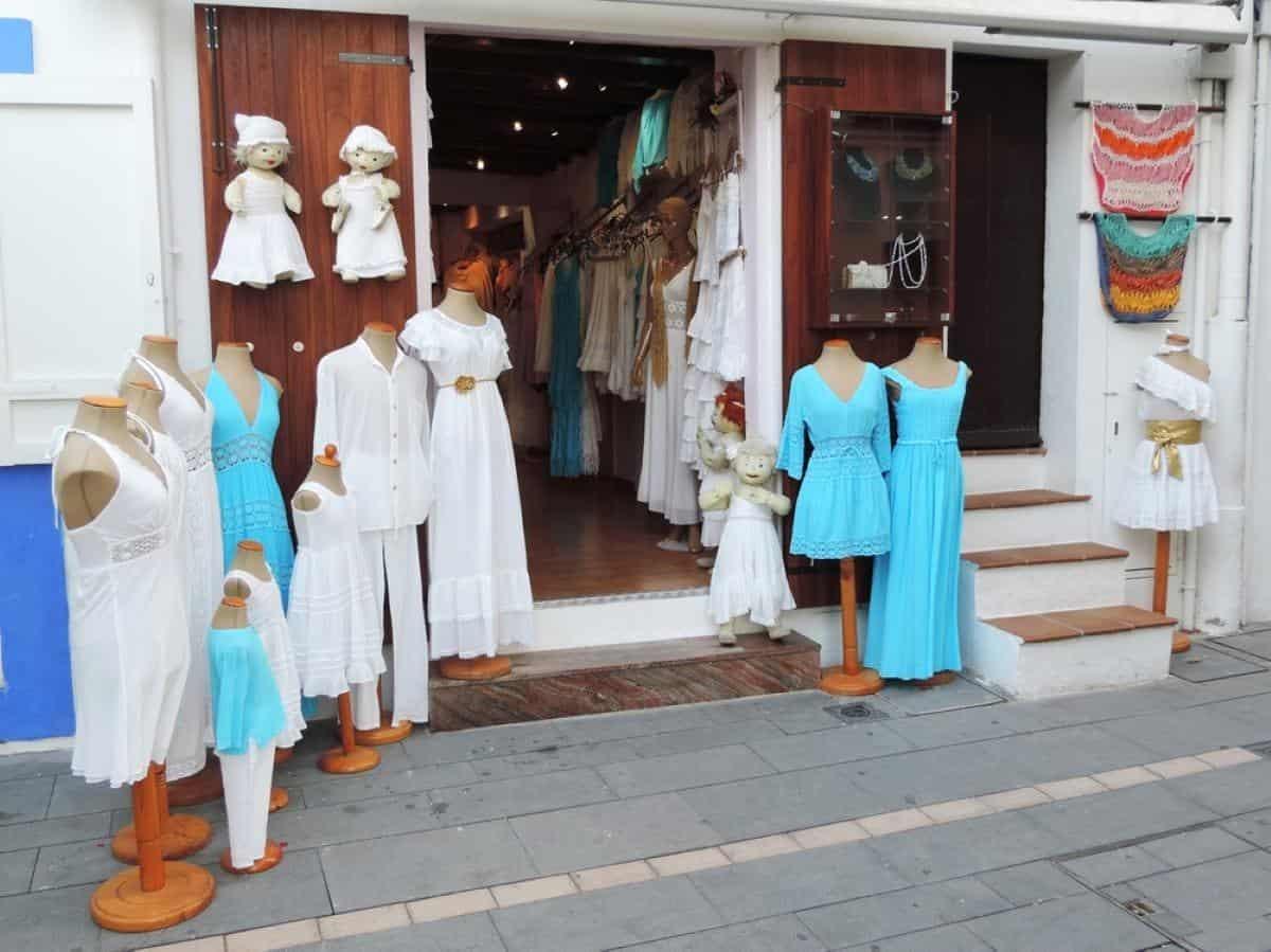 store on Ibiza Island Spain
