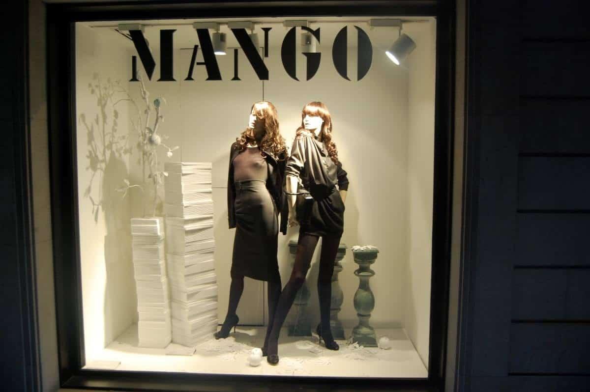 Mango store in Barcelona spain