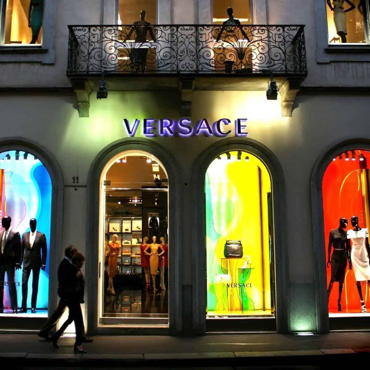 Versace Boutique Milan, Italy