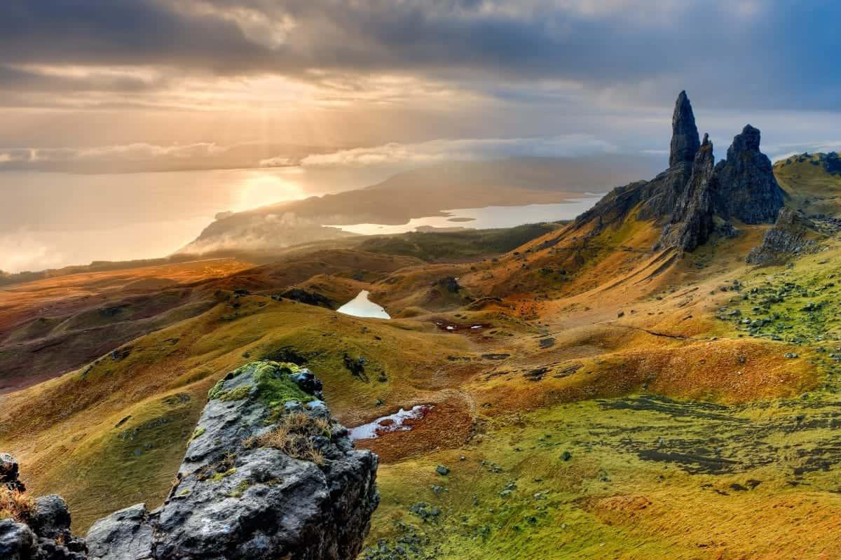 Isle of the skye Island Scotland
