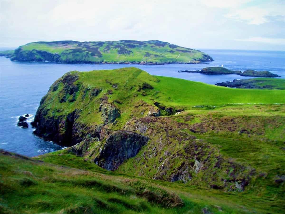 Isle of Man Island