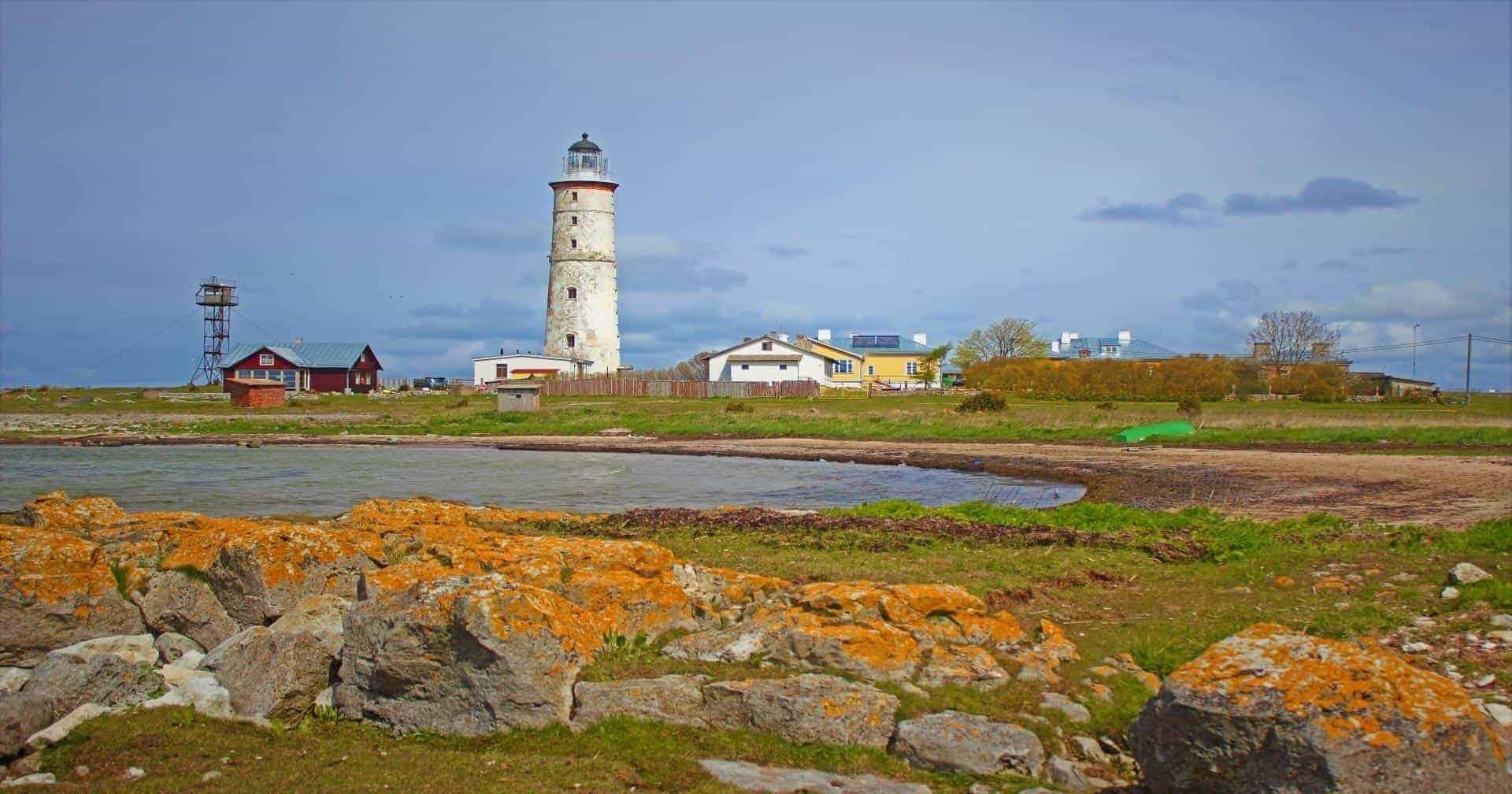 lighthouse in Vilsandi island Saaremaa Estonia