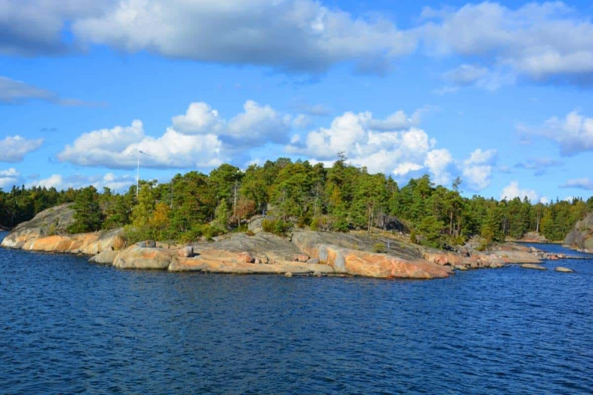 Vartiosaari island in Helsinki Finland