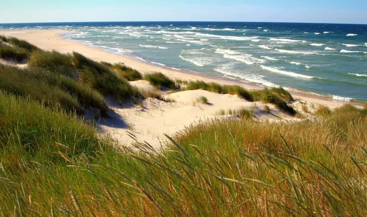 Gotkska sandön sand beach