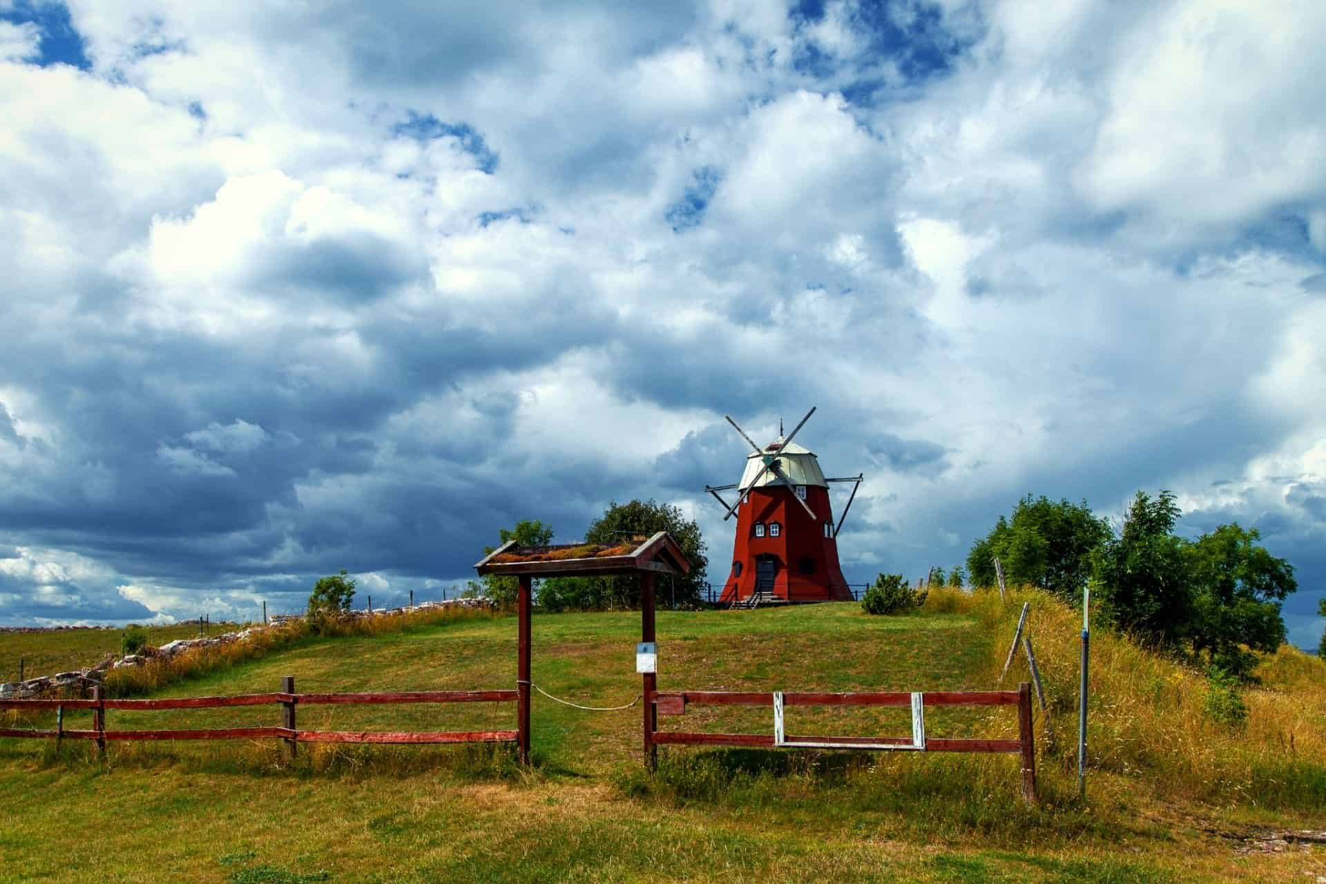 Windmill on Öland Sweden