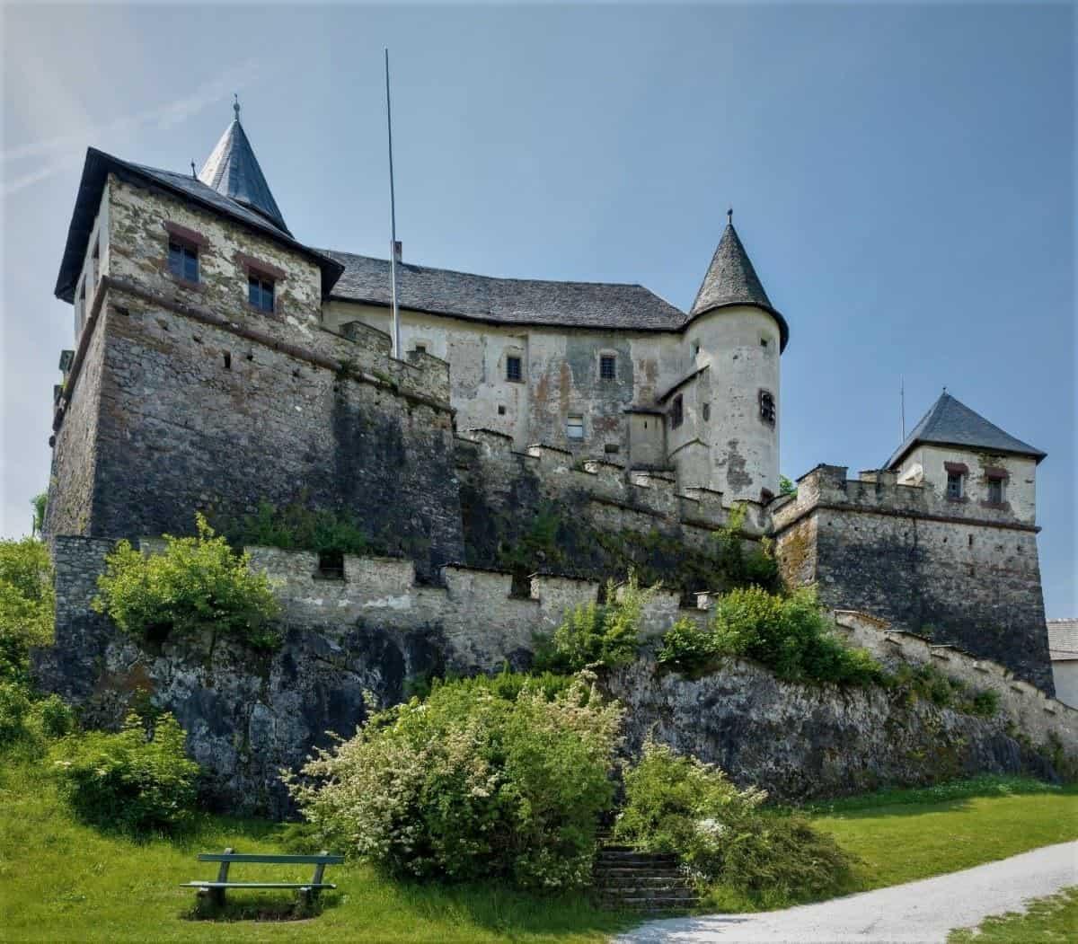 Burg Hochosterwitz Palas
