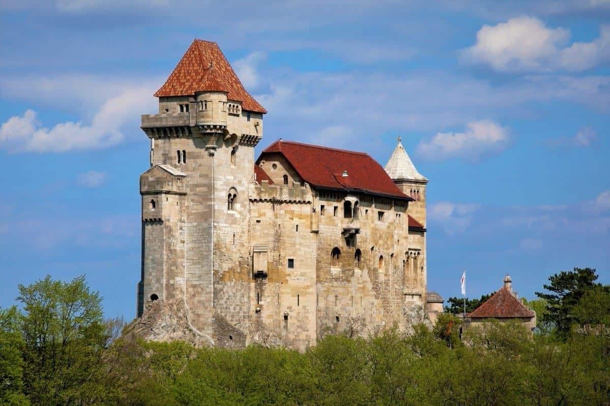 Burg Liechtenstein Maria Enzersdorf Austtia