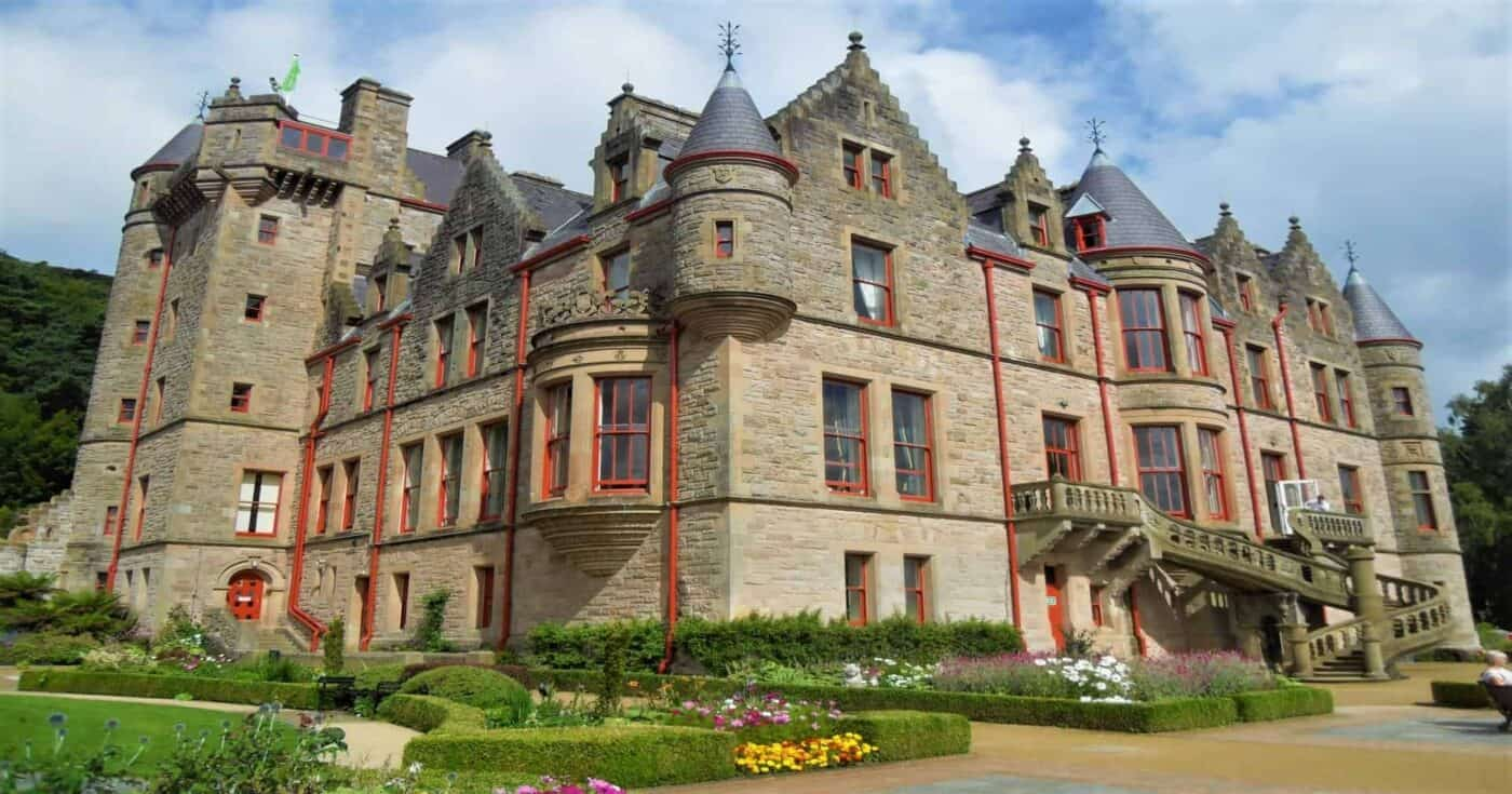 Belfast Castle In Northern Ireland