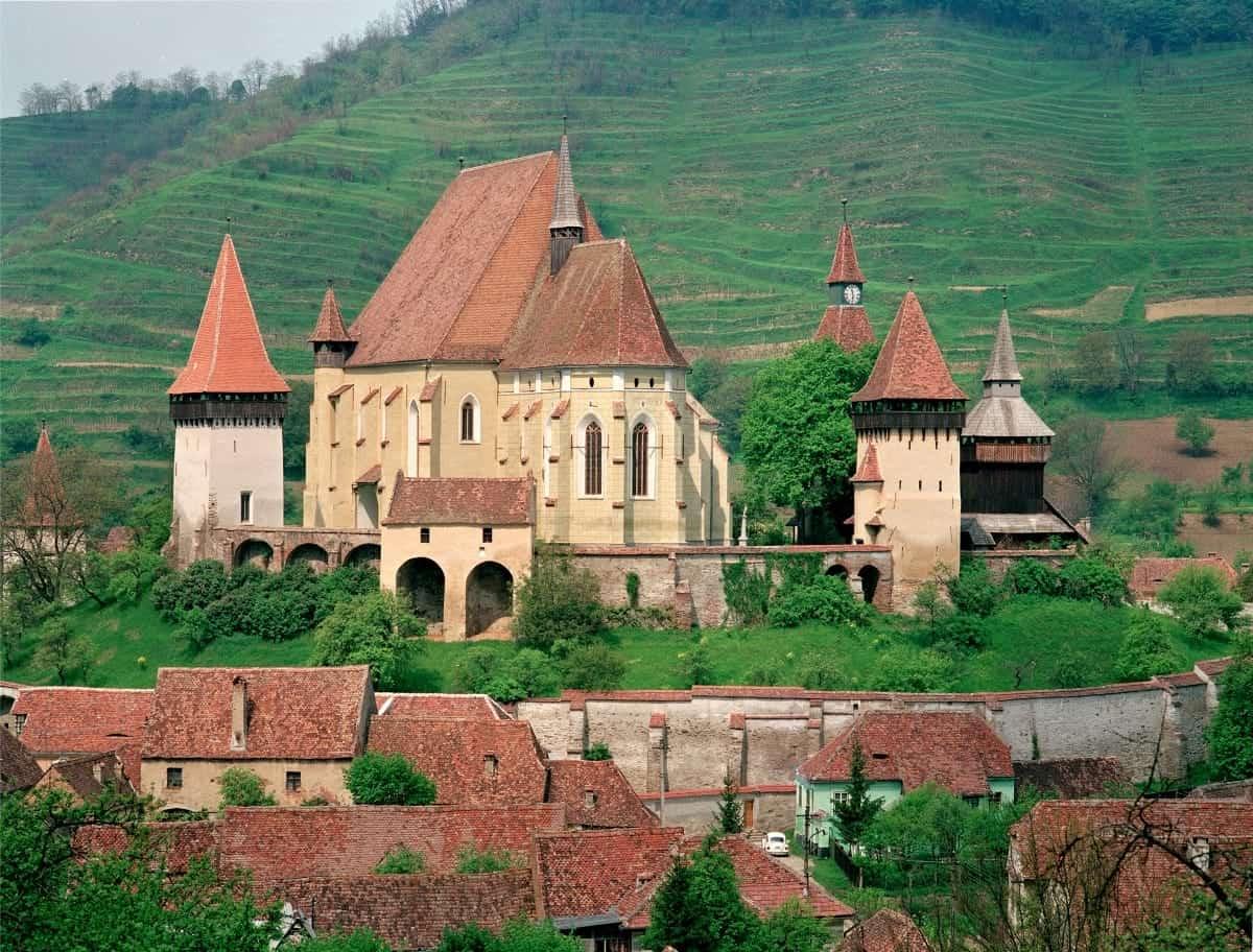 Biertan Fortified Romannia