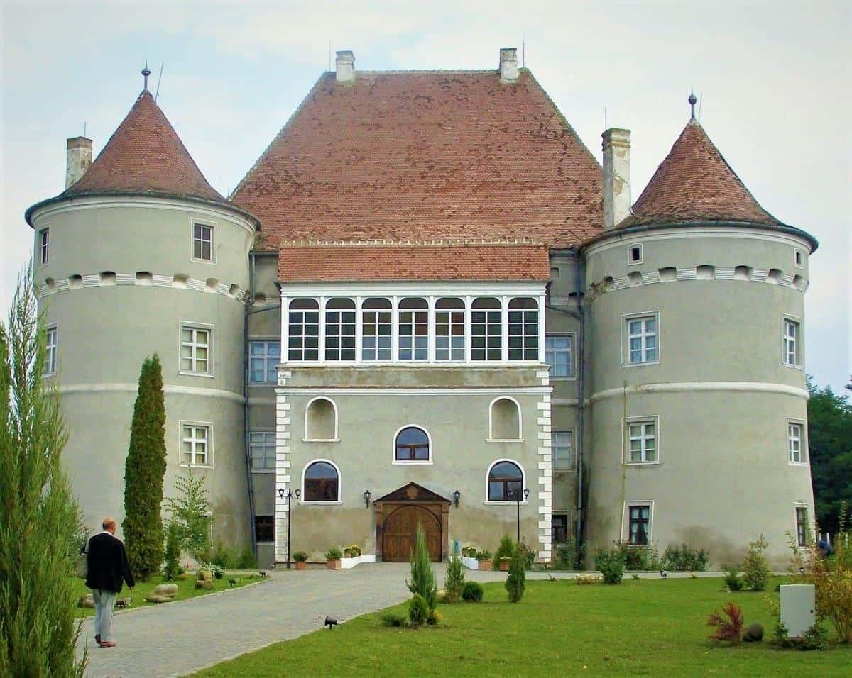 Jidvei Castle Romanania
