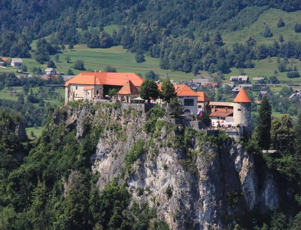 Bled castlle slovenia