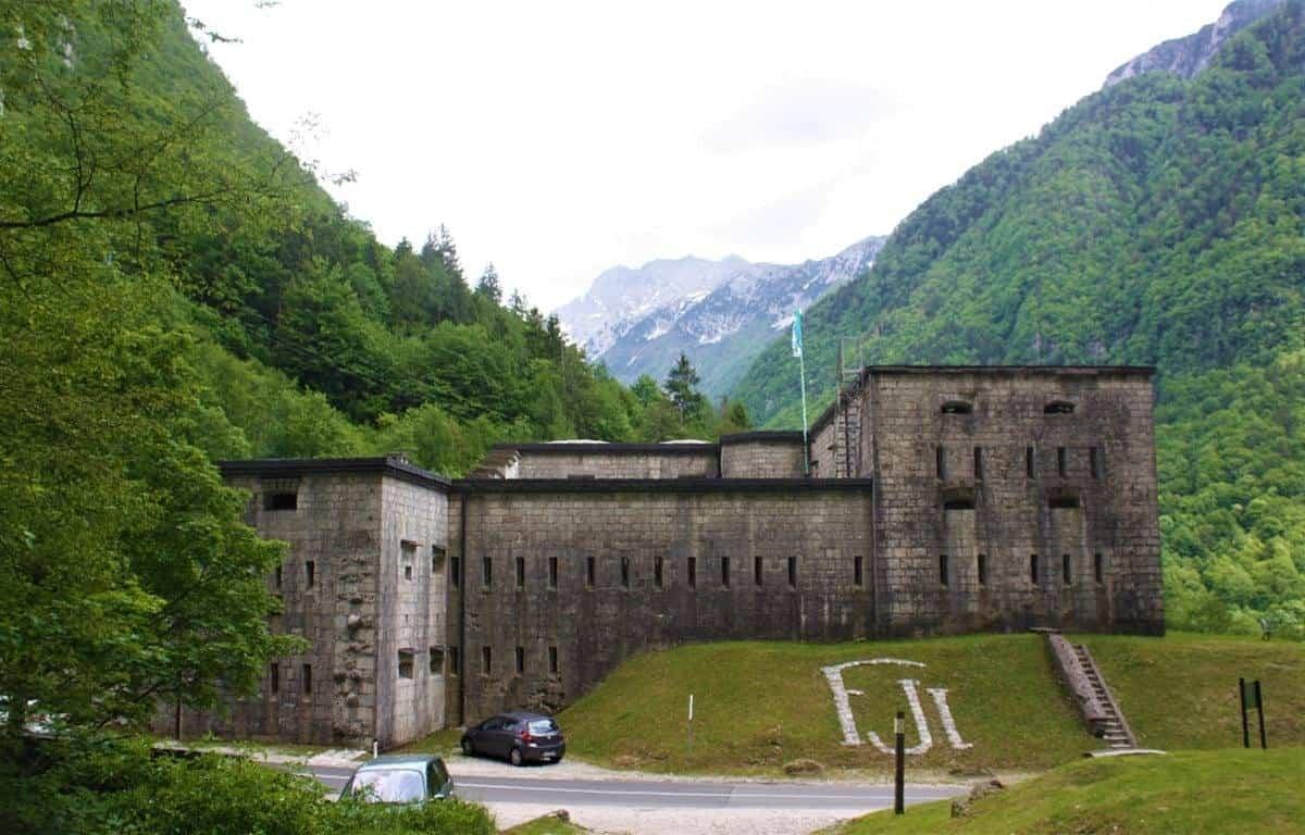 Bovec Castle Slovenia