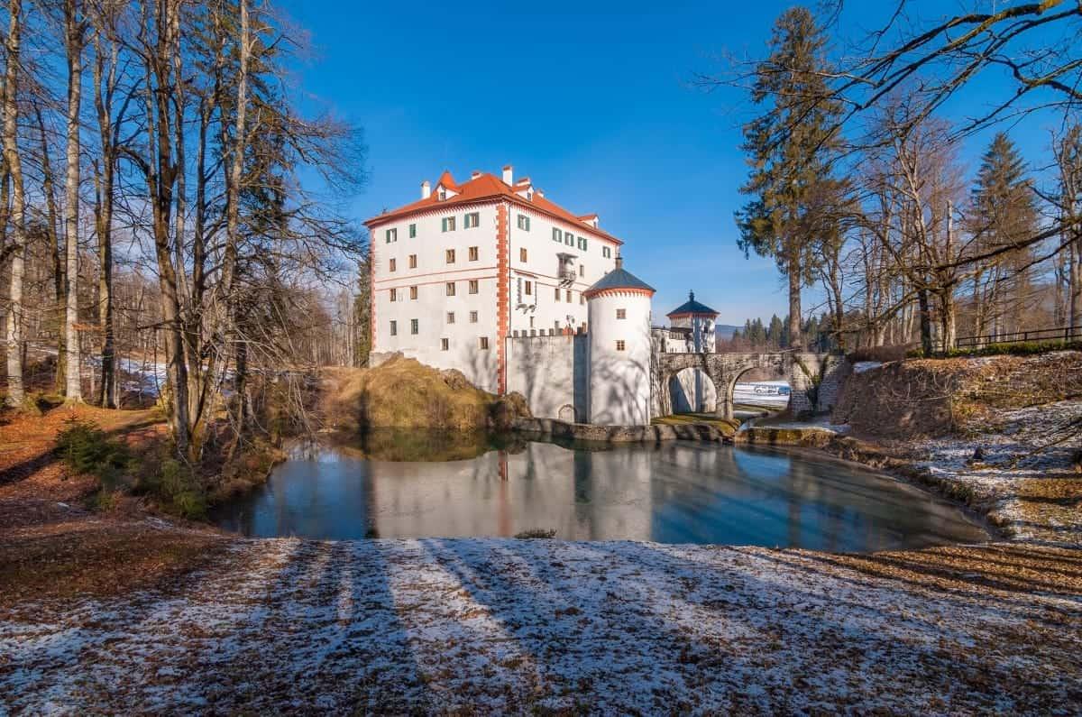 Snežnik Castle Slovenia