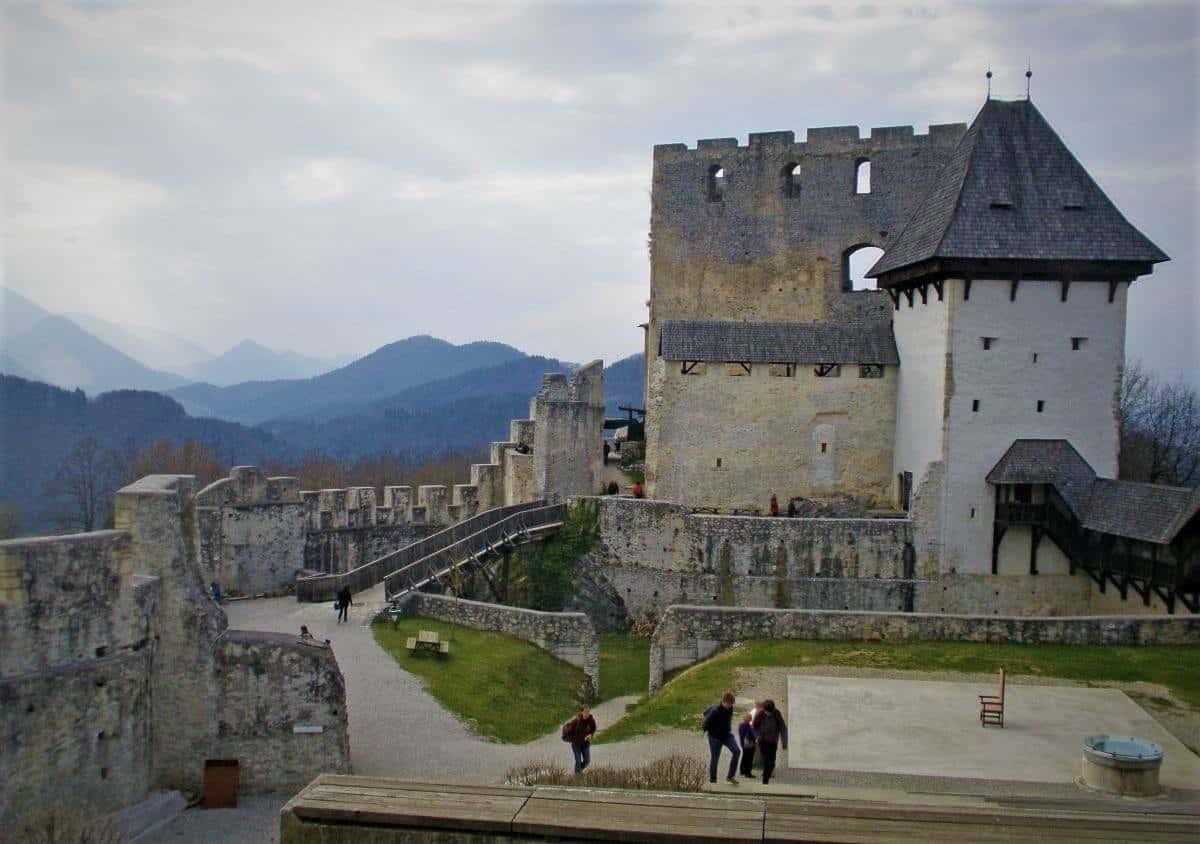 Stari grad Celje Slovenia