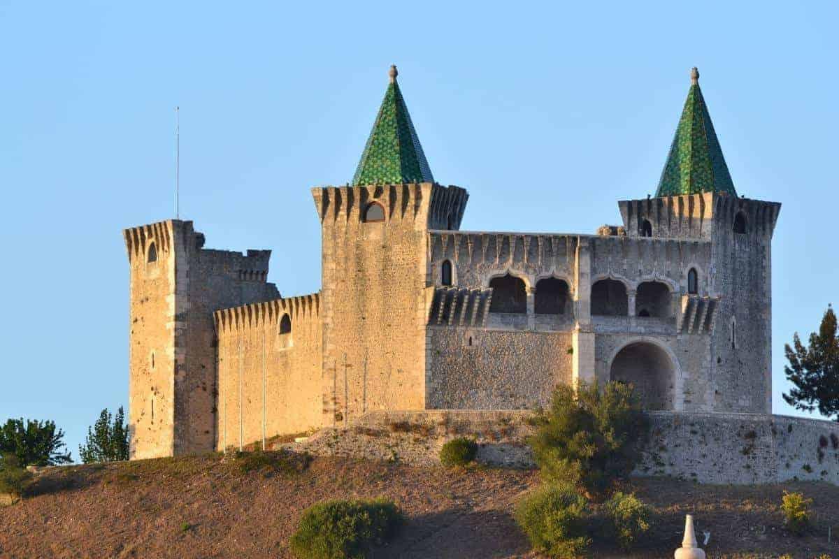 Castelo de Porto de Mos Portugal