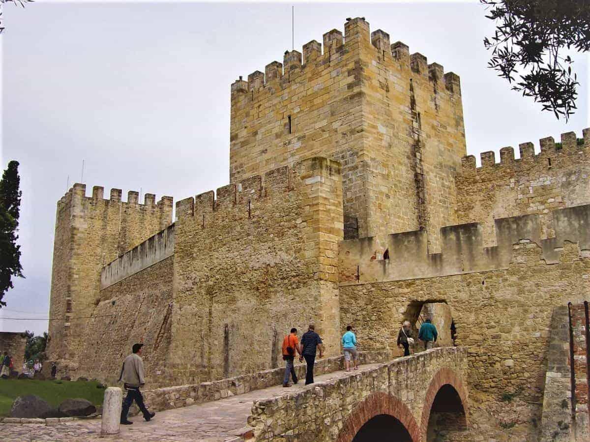 Castelo de Sao Jorge Portugal