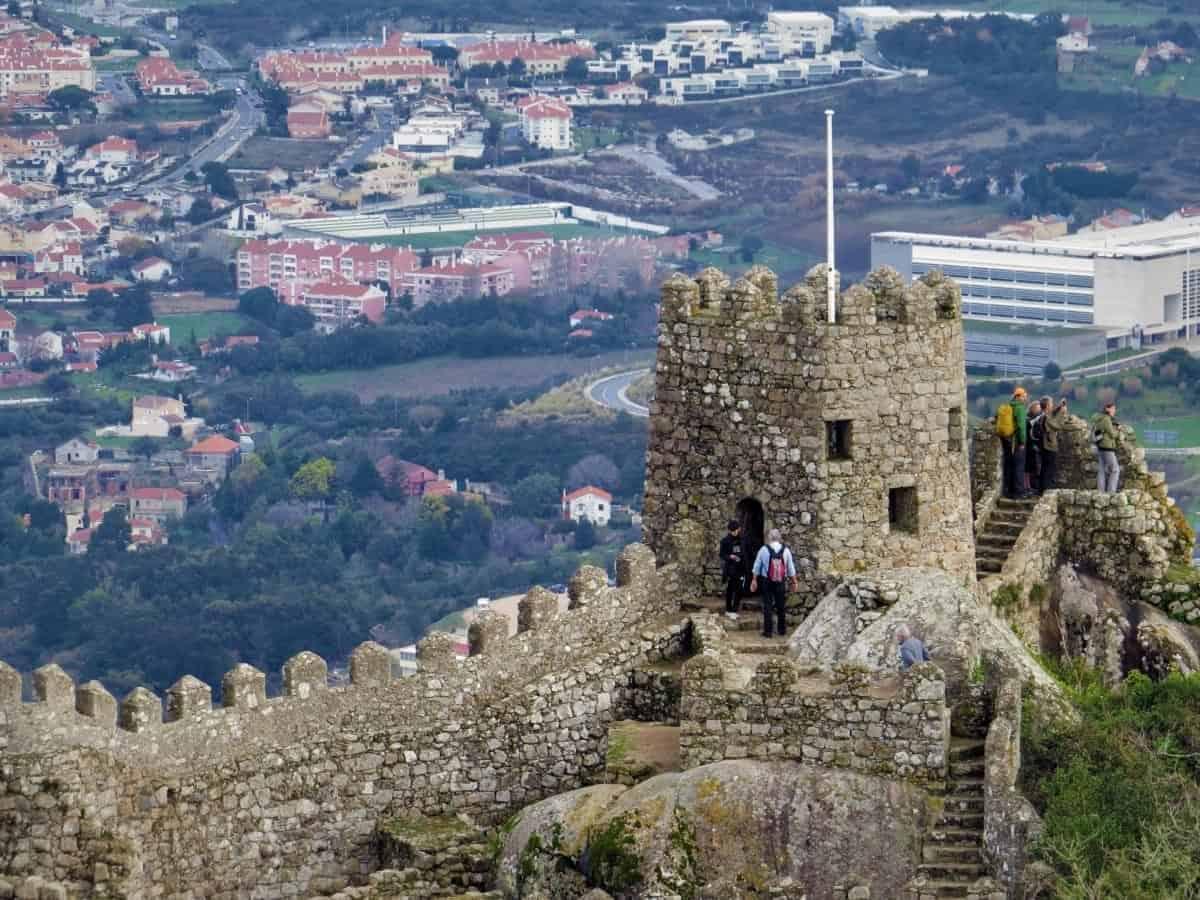 Castelo dos Mouros portuga