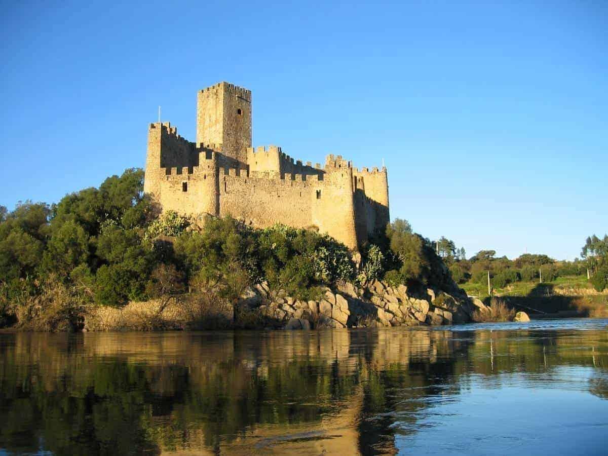 Castle of Almourol Portugal