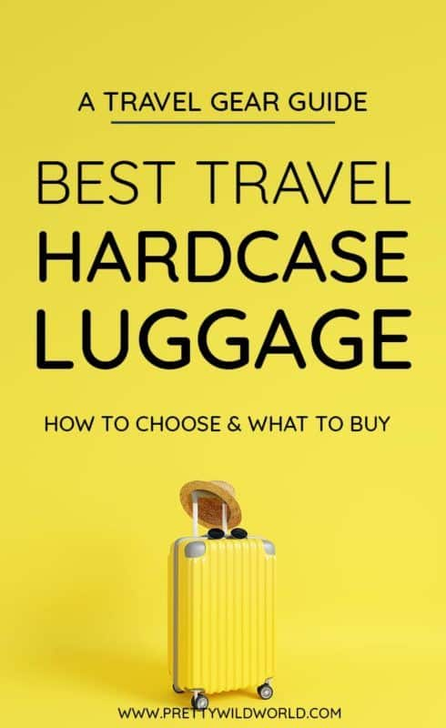 Best hard case luggage | Looking for the best travel hacks for organization when you travel? A hard case luggage is the answer! It is perfect for packing either for a short vacation or for long term! #luggage #luggagesets #hardcase #hardcaseluggage #travelhacks #traveltips #packinglist #packingtips #packingtipsfortravel