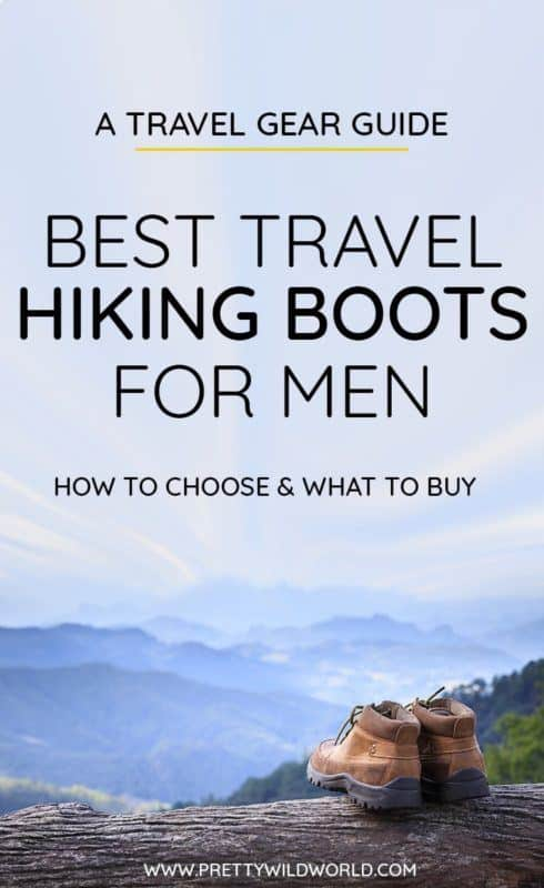 Best hiking boots for men | Looking for waterproof, stylish, and stylish hiking shoes for your next adventure? Read this post to know more about it or pin it for later read! #hiking #hikingboots #hikingtrails #hikingtips #hikinggear #trekking #adventuretravel #naturelovers #traveltips