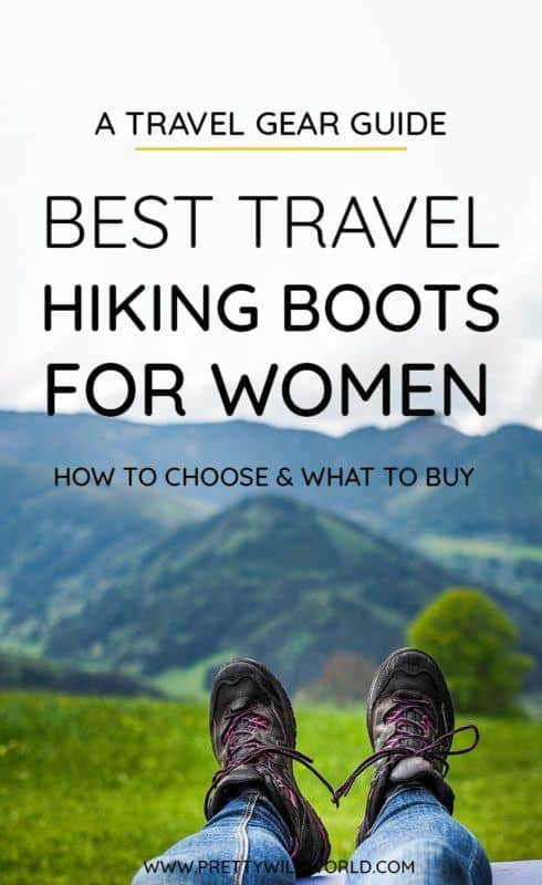 Best hiking boots for women | Looking for women's trekking shoes that are stylish, lightweight, cute, waterproof for rainy and summer seasons, and perhaps suitable for winter? Check this post out or pin it for later read! #hiking #hikingboots #hikingtrails #hikingtips #hikinggear #trekking #adventuretravel #naturelovers #traveltips